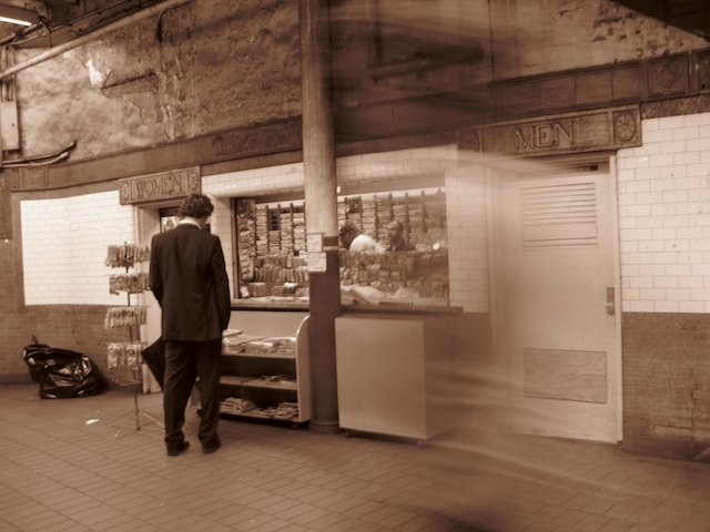 2568228300 d7e0275c54 o subway station in sepia