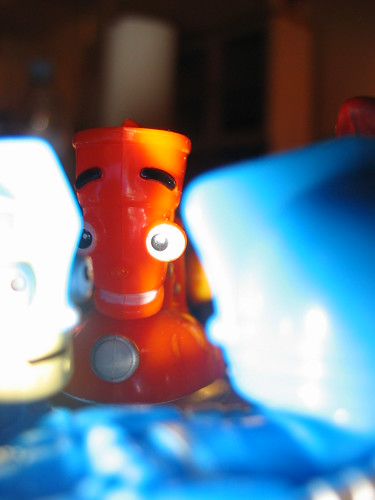 robots cocoa krispies