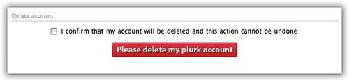 Plurk可以自砍帳號