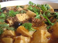 mapo tofu (kattebelletje) Tags: tofu  mapotofu mapodoufu  doufu