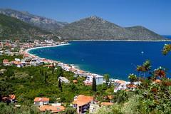 Greece holidays Ελληνικά Ελλαδα Kynouria Tirosapounakeika bay (c) Bernhard Egger :: eu-moto images