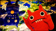 lucy in the sky with dragons (fuzzirella) Tags: trip photoshop scary acid lsd beatles hallucination trippy uglydoll poe uglydolls icebat freakingout the60s uglydog lucyintheskywithdiamonds hallucinate cwd abima 2cwdrs cwdrs cwd752 cwdrs75 2cwdrs75