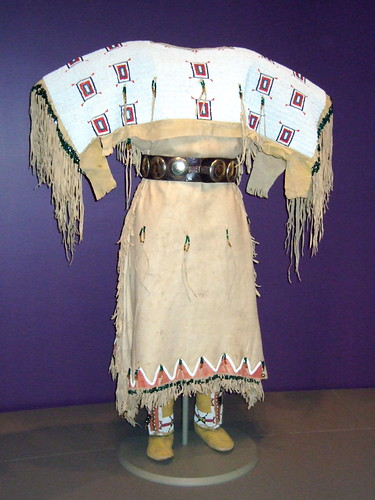 NMAI_Woman's Buckskin Dress (White Shoulders) | Flickr - Photo ...