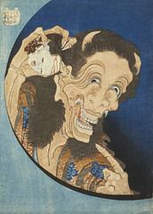 Hokusai Old woman