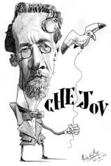 CHEJOV, Anton (Morales de los Ros) Tags: writers caricaturas philosophers caricatures escritores filsofos