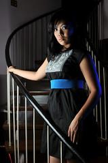 (joelCgarcia) Tags: portrait female stairs nikon pretty philippines sb600 tokina filipina cls d300 sb800 strobist coloredgel 2880mmf28 shootthroughumbrella atx280 tenparasresidence flickristasindiosshoot maruventura