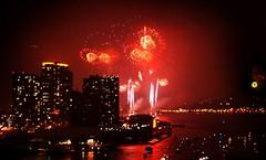Smile =) (Lazyousuf) Tags: fireworks eastriver fourthofjuly july4th independenceday longislandcity newyorkny explored explore14 newyorkspectacle