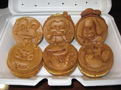 Mitsuwa Marketplace: Cream yaki set - from Oishinbo