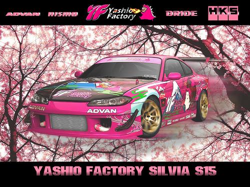 s15 silvia wallpaper.  Yashio Factory Silvia S15