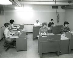 IBM Keypunch Machines