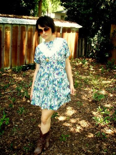 lace fern dress