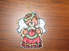 Bear Ornament Back 1
