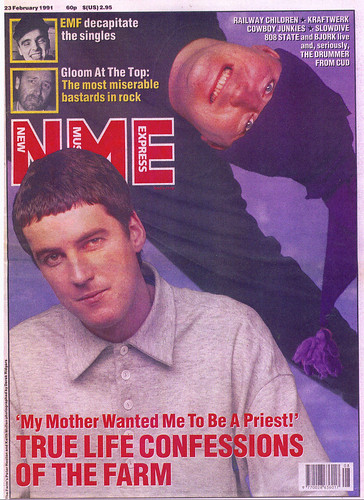nme front cover. NME Front Cover Feb !991 Peter amp; Keith