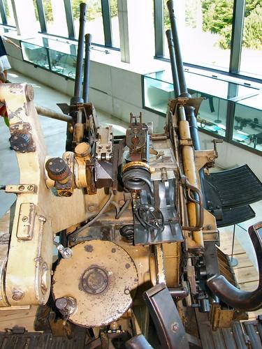 2 cm Vierling Flak gun