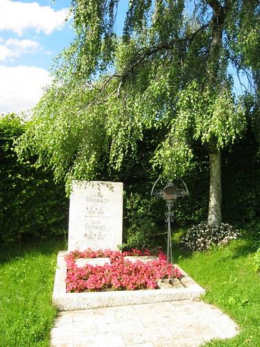 Grab von Ludwig Erhard