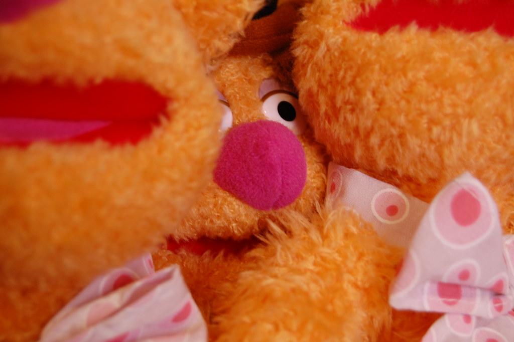 Fozzie Bear Plush - 365 Toy Project - 44/365