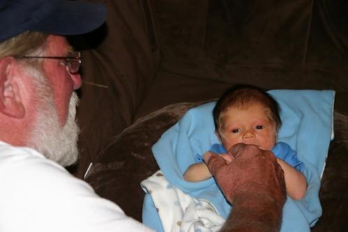 Jack with Papa Joe