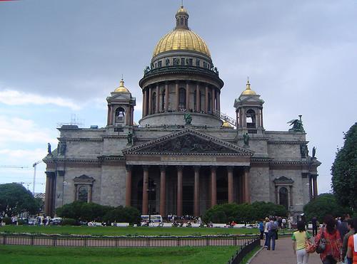 Catedral de San Isaac por César Atanes.