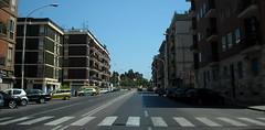 Via Campania (cristianocani) Tags: road sardegna street italy strada italia sardinia cagliari citt domenica caldo 1430 pomeriggio basca