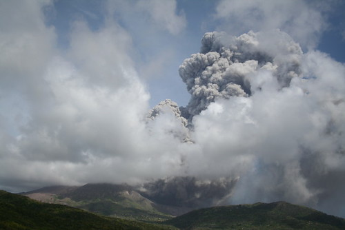 Small PF in Gages by Montserrat Volcano Observatory.