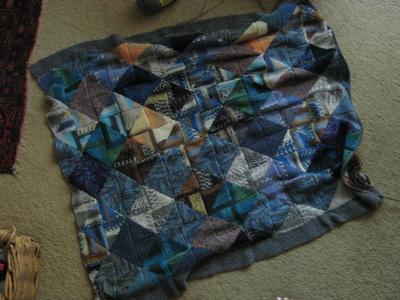 leftover blanket