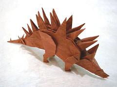 Tuojiangosaurus (Origami Natan) Tags: art mxico paper paperart origami arte dinosaur papel kawahata fumiaki tuojiangosaurus carlosnatanlpeznazario