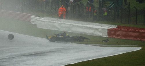 GP2 Super Nova Andy Soucek crash