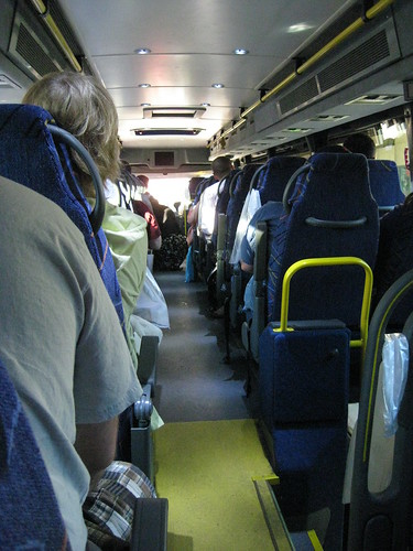 Megabus Interior