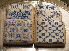 Delft Tile Cookies (Whipped Bakeshop) Tags: holland netherlands dutch cookies tiles zoelukas whippedbakeshop tilecookies bestofphilly2010 philadelphiacakescookiesandcupcakes