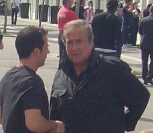 Ludovic Giuly et Charles Villeneuve au Camp des Loges