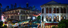 Chinatown Panorama (williamcho) Tags: fab food tourism singapore chinatown chinese entertainment temples pubs bargains stalls damniwishidtakenthat