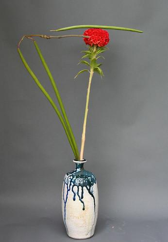 Ikebana-line and balance