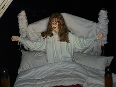 Hollywood Wax Museum (Adventurer Dustin Holmes) Tags: celebrity halloween mannequin museum scary mannequins creepy celebrities wax museums exorcist possessed lindablair bransonmissouri bransonmo hollywoodwaxmuseum possessedbydemons hollywoodwaxmuseumbranson possessedbythedevil possessedbyademon