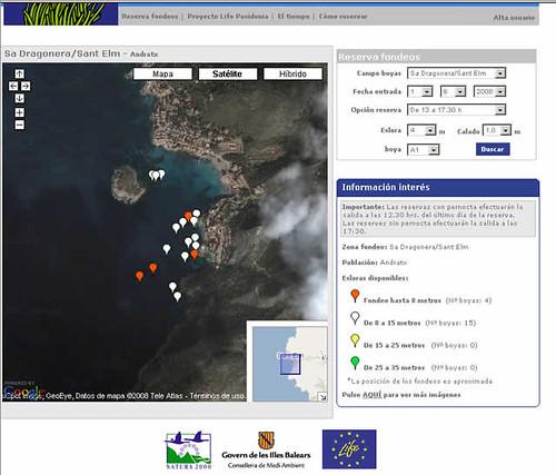 Fondeos ecológicos en Mallorca