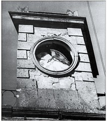TERREMOTO TUSCANIA 6 FEBBRAIO 1971 (MARCO_QUARANTOTTI) Tags: italy italia torre orologio viterbo tuscania lazio maremma terremoto torretta