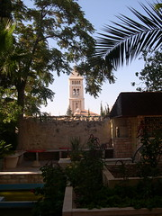 Church Tower (upyernoz) Tags: church israel palestine jerusalem  churchoftheholysepulchre  oldcity        lutheranguesthouse