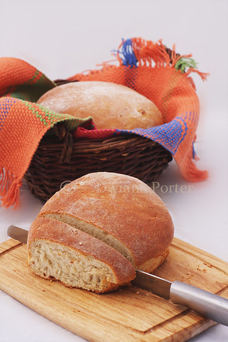 potatoes bread
