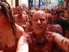 Tomato shampoo, anyone? LOL (Mr. Muddy Suitman) Tags: travel spain tomatoes festivals foodfight latomatinabunol