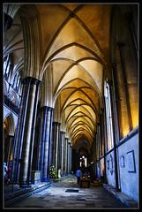 The arches of Salisbury (Megara Liancourt) Tags: england arch cathedral salisbury wiltshire sonyalpha100 abigfave aplusphoto overtheexcellence colourartaward platinumheartaward artlegacy goldstaraward damniwishidtakenthat