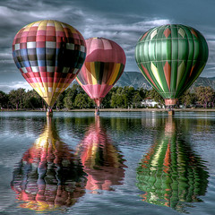 "Colorado Balloon Classic - ""Balloon dream"" (iceman9294) Tags: pink blue red sky lake hot color reflection green festival balloons nikon colorado searchthebest air hotair balloon surreal professional coloradosprings hotairballoon hotairballoons hdr ballooning memorialpark d300 oos photomatix coloradoballoonclassic prospectlake vision1000 visiongroup bratanesque bestofbratanesque vision100"