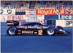 Nigel Mansell JPS Lotus Renault 94T F1. 1983 British GP Silverstone.(Explore) (Antsphoto) Tags: uk slr classic car speed 35mm lotus britain norfolk f1 historic renault explore grandprix turbo silverstone formulaone british 1983 canonae1 1980s motorsports formula1 mansell nigel gp groundeffects motorsport racingcar turbocharged autosport kodakfilm jps blackgold carracing nigelmansell motoracing johnplayerspecial f1car flickrexplore formulaonecar formula1car jpslotus teamlotus lotusf1 tamron70210mm f1worldchampionship lotusrenault grandprixcar antsphoto 94t canonae135mmslr fiaformulaoneworldchampionship f1motoracing formula11980s anthonyfosh jpslotusrenault formula1turbo