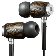 Promo photo of JVC Victor HP-FX500 In-ear Headphones.