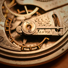 Tick Tock (Rudy Malmquist) Tags: silver gold watch fast springs getty mm elgin pocket gears guts pocketwatch macromonday