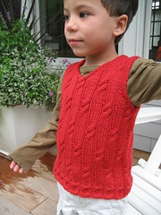 4 Aug 007 (knititude) Tags: vest childs sleeveless florin