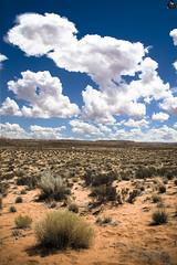 Desert (Bandal) Tags: sky usa naturaleza nature clouds landscape utah desert bend dry natura paisaje canyon belle desierto horseshoe paysage vue beau paesaggio paisatge bello superbe horseshoebend prcieux bandal xavigalvez