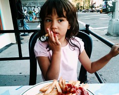Eatin' French Fries by edenpictures, on Flickr