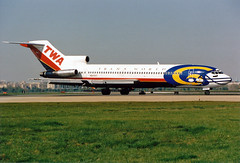 B727-2.N64347 (Airliners) Tags: boeing dca twa 727 b727 losangelesrams 497 transworldairlines larams b7272 specialcs n64347