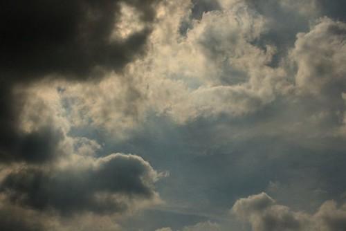 Dramatic Dublin Sky