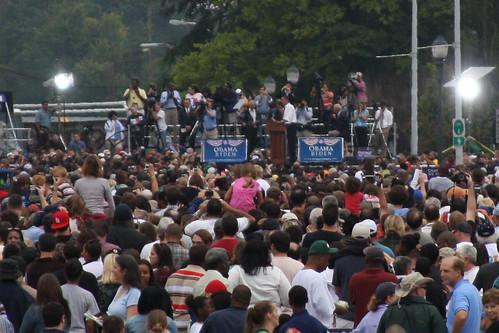 Obama speaks in Greensboro