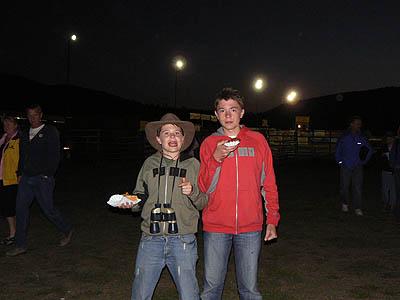 paul et clem au rodeo ed WY.jpg